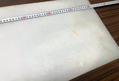 業務用まな板の再研磨ビフォー